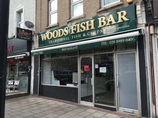 Woods Fish Bar South Woodford