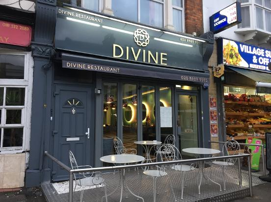 Divine Restaurant South Woodford