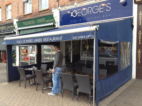 Georges Fish and Slouvlaki Bar south woodford